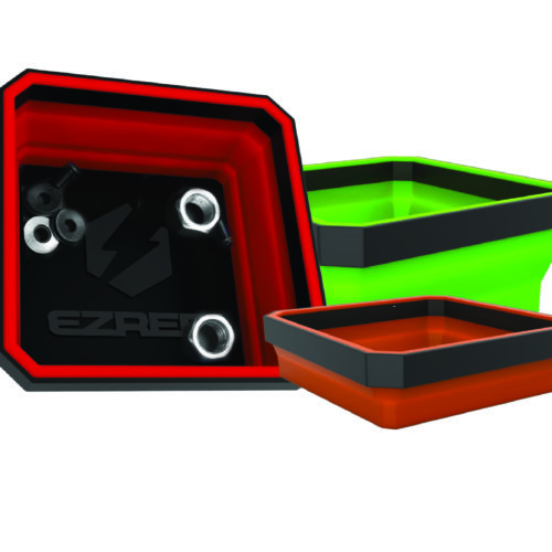 EZRED Collapsible Magnetic Parts Tray