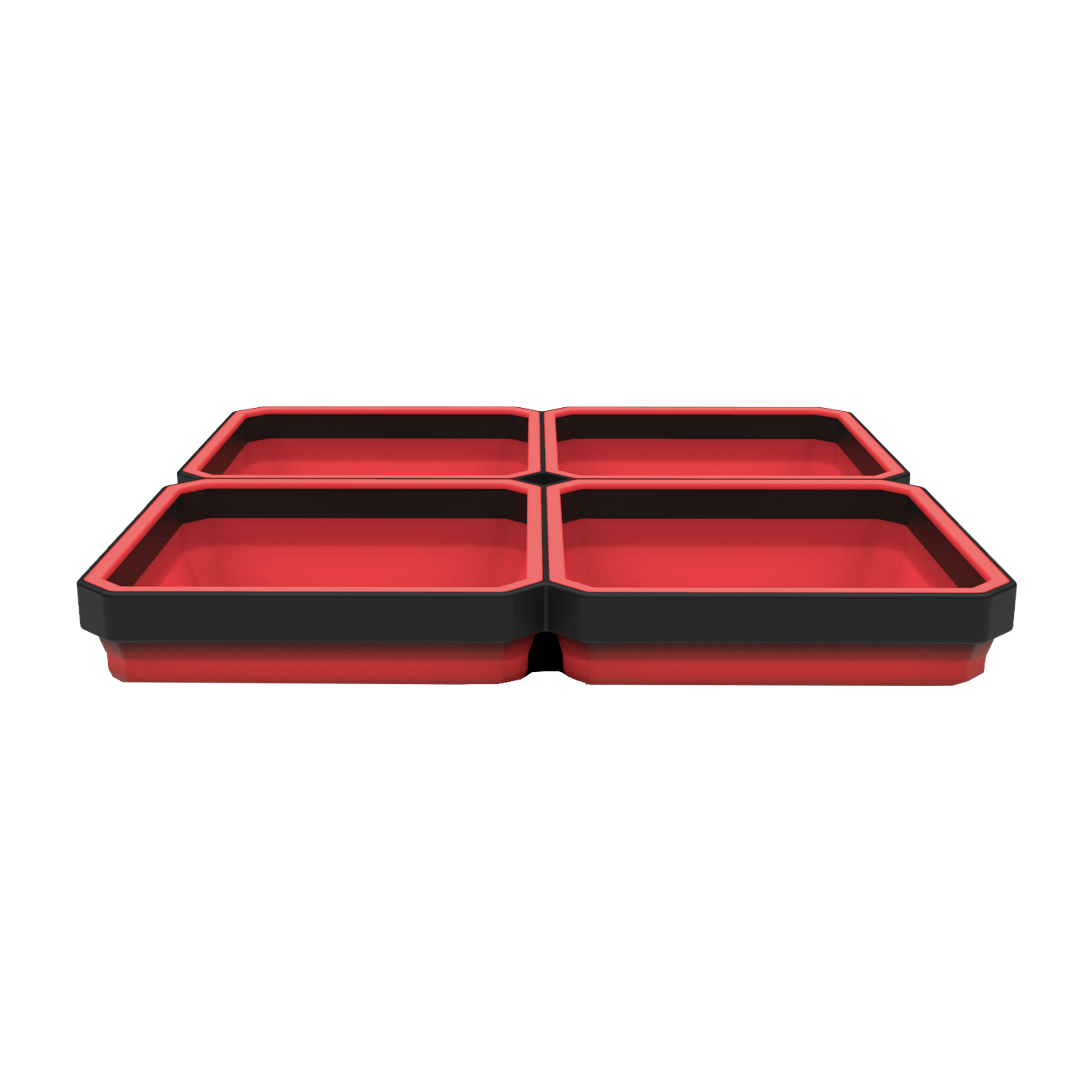 EZ Red EZTRAY Collapsible Magnetic Parts Trays